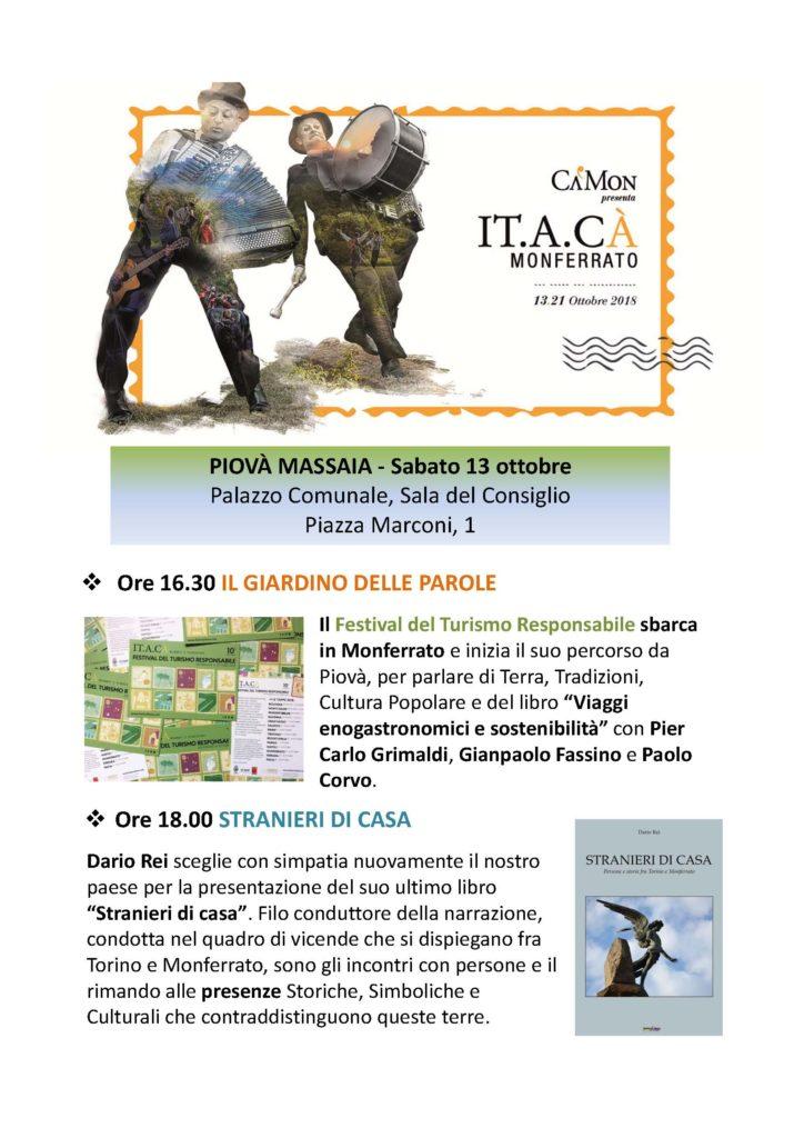 [:it]IT.A.CA' il Festival del Turismo Responsabile[:] @ Monferrato