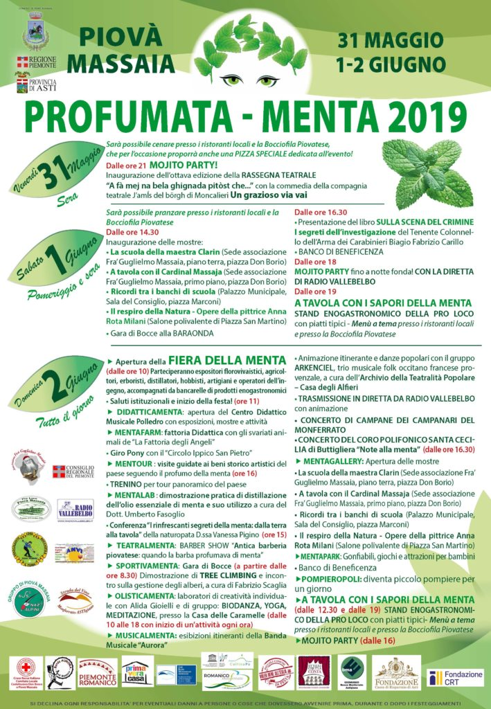 [:it]Profumata-Menta[:] @ centro storico di Piovà Massaia