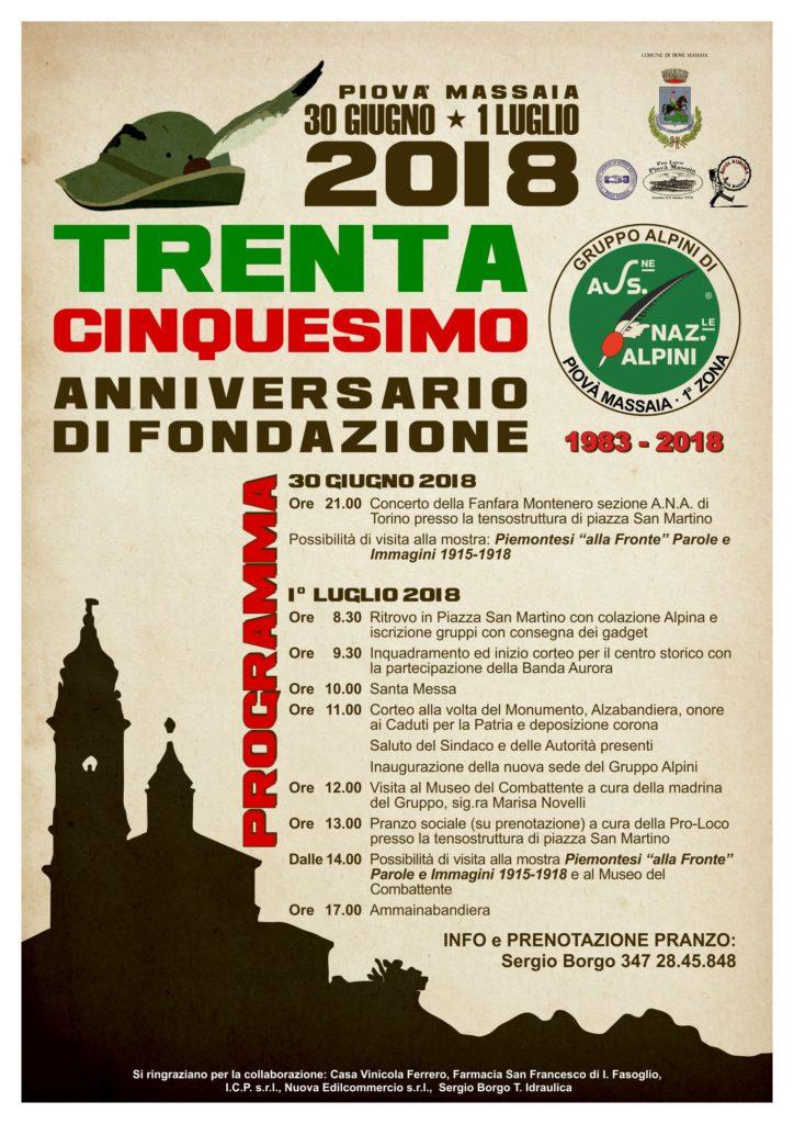 [:it]35° anniversario Gruppo Alpini[:] @ Piovà Massaia