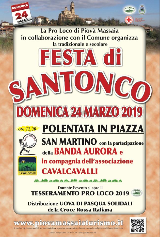 [:it]Tradizionale festa di Santonco[:] @ Piovà Massaia