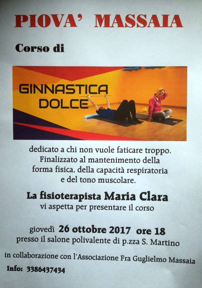 [:it]Corso di ginnastica dolce[:] @ Salone polivalente di Piovà Massaia